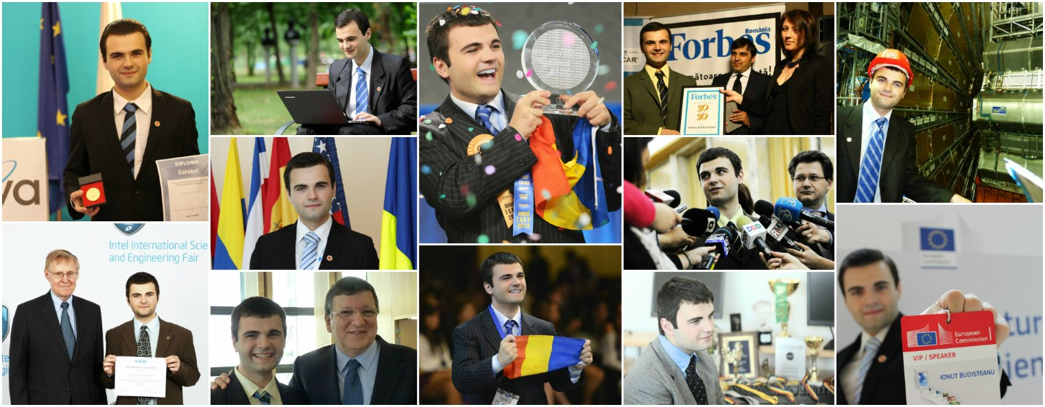 Ionut Alexandru Budisteanu awards