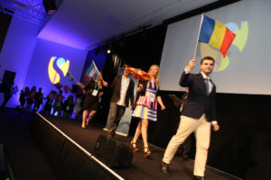 Alexandru Budisteanu opening ceremony Singulartity University