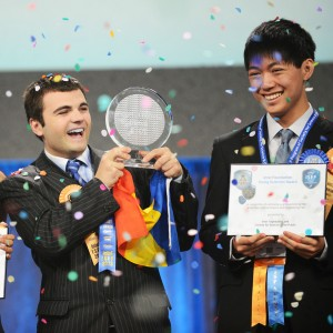 Intel ISEF Ionut Budisteanu winner
