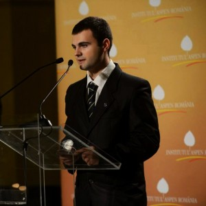 Ionut Budisteanu ASPEN speech award